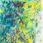 "Untitled (G), 6""x 6"", Caran D, Ache Crayon on Paper"