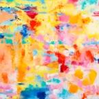 "Venetian Reverie 2, 24"" x 24"", Oil + Pigment Sticks on Canvas - SOLD"