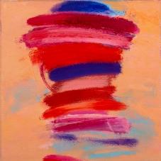 "Big Little 4, 6""x6"", Oil + Pigment Sticks on Canvas"