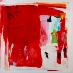 Untitled (Vermillion)