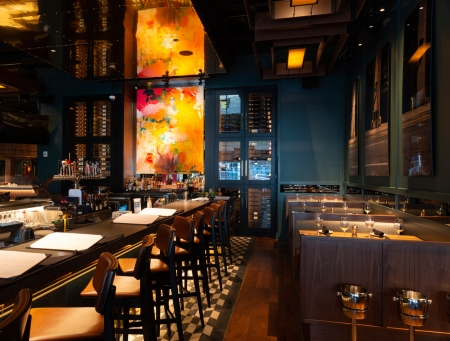 Resplendent, Installation, Del Frisco's Grille, Philadelphia, PA